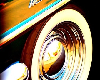 Classic Mercury - Rustic Wall Art - Classic Car Art Prints - Retro Print - Vintage Car Photography - Garage Art - 8x10