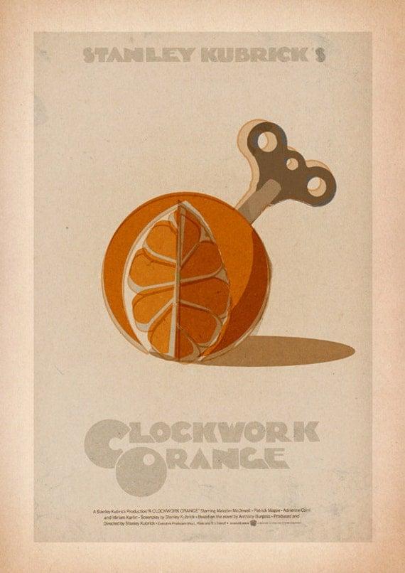 A Clockwork Orange Alternative Poster