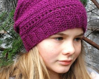 Instant download - PDF crochet pattern, crochet hat #4