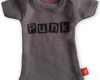 Sasha Doll & MSD sized T-Shirt - Grey PUNK