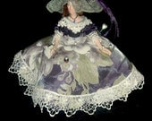Theresa is a repurposed tassel doll by Classy Pincushions  collectible