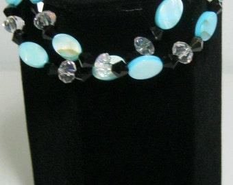 Double Strand Magnetic clasp bracelet