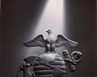 Spotlight Art - Marines Logo