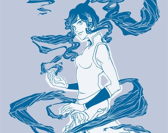 Korra T-shirt from the Last Airbender, the Legend of Korra Series
