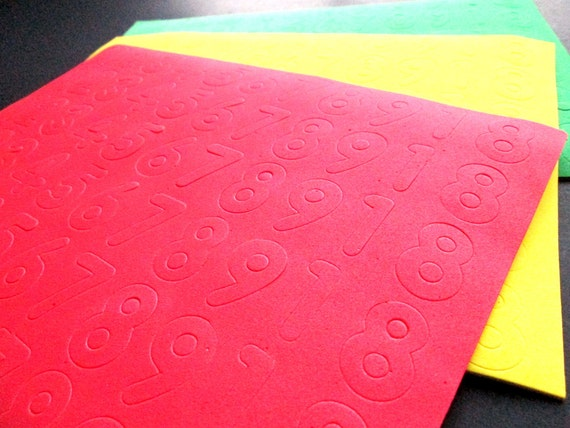 3 foam number sheets sheets of craft foam by qutiesupplies for Red craft foam sheets