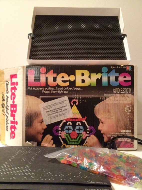 Vintage Lite Brite With Disney Snow White By Retroalleyvintage