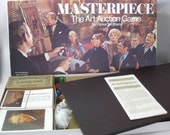 Masterpiece : The Art Auction vintage board game