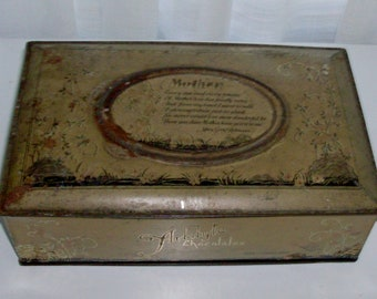 Mother Artstyle Tin Chocolate Box
