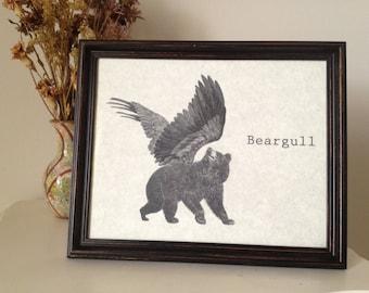 Beargull Print 8 x 10