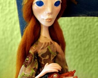 Healer - Ooak handmade art doll