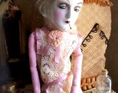 RESERVEDforHeather - Boudoir Doll - art doll ooak, 1920s style