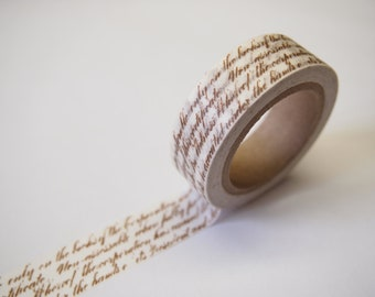 Letter Washi Tape (10M)