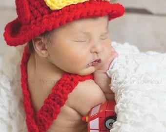 Crochet Firefighter Set