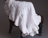 Crochet Pattern - Olivia receiving/blessing blanket