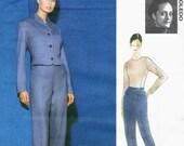 Isabel Toledo pantsuit & knit top pattern -- Vogue Attitudes 1869
