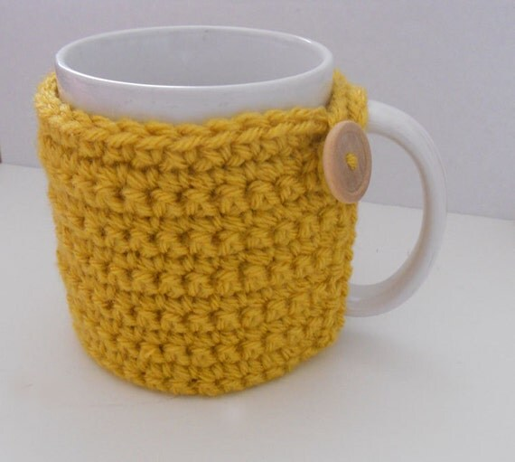 Made to Order - Crochet Coffee Cup Cozy - Many Colors Available