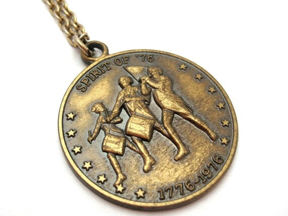 Spirit of '76 Commemorative Coin Pendant Necklace