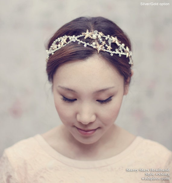 Unique Wedding Headpieces: Unique Wedding Headpiece Bridal Hair Accessories By Wishpiece