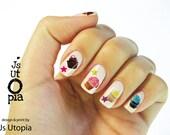 Cupcake Nail Sticker
