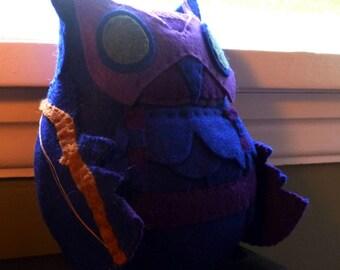 Avengers Hawkeye Inspired Owl Plush