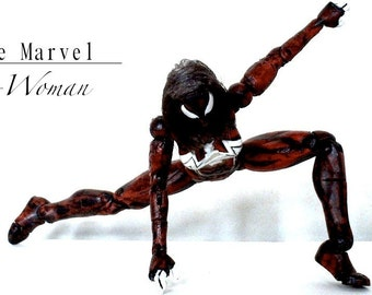 Ultimate Spider-Woman - The Amazing Spider Woman custom action figure