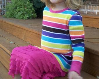 GIRLS RUFFLE DRESS