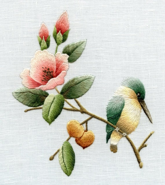Digital Download - Chinese Bird & Flower