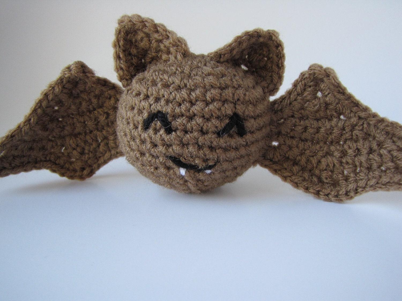 Make Amigurumi Bat Crochet : Amigurumi Vampire Bat Halloween crochet spooky cute plush toy