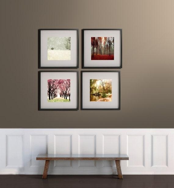 Four Seasons Art 4 Seasons Prints 12x12 Prints For Ikea