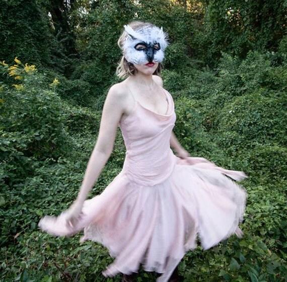 Snowy White Owl Mask, owl mask, owl costume, handmade mask, bird mask, animal mask, bird costume, animal costume, Harry Potter owl