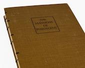 1941 PHILOSOPHY Vintage Lined Notebook Journal