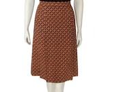 1970s Nina Ricci Print Skirt