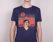 Xmas Sale, 25 % Off! ! Free Shipping - Unisex (Mens / Womens) Colombia Medellin Pablo screen printed T shirt