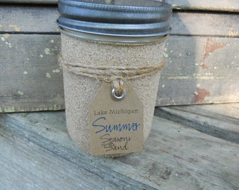 Lake Michigan Soy Candle Summer Beach Cottage June July August Memories