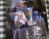 Prym Patchwork and Quilting Pattern - pin cushion and chair cushion in windmill pattern