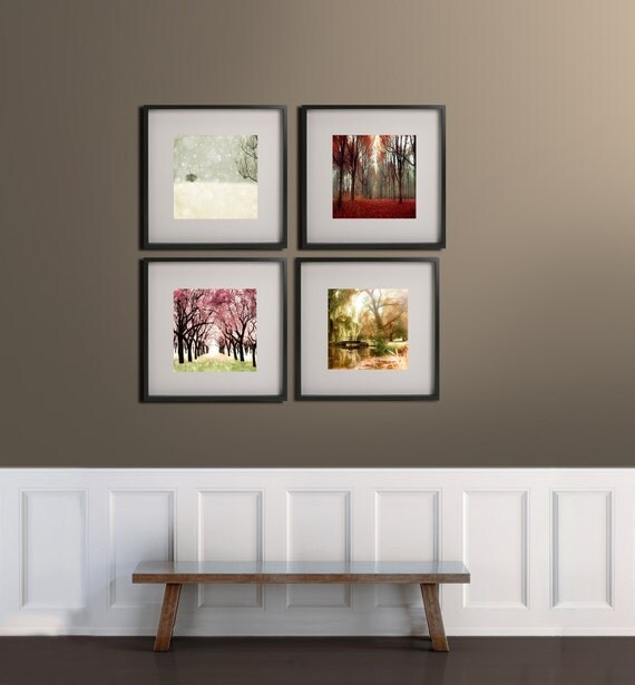 SALE,  4 Seasons Tree Print- Nature Photography- Four Seasons Art Prints- 4 Seasons Wall Art