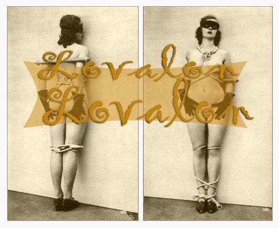 MATURE... Le Masque Nu... Vintage Nude Photo Download... Erotic Digital Download by lovalon