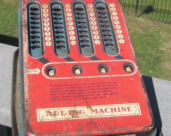 Wolverine Toy Adding Machine 1940 Era