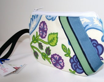 Wristlet Purse, Fabric Wristlet, CellPhone Wristlet