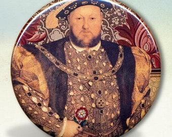 King Henry VIII Tudors Pocket Mirror