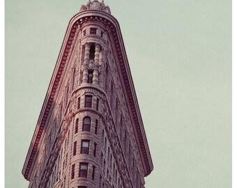 New York City Photography  - Flatiron Building Print - NYC Art - City Print - Architecture Print  - Oversized Art - New York Art Print