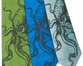 Octopus Silk Tie