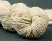 Sock Yarn - Wheat - Alpaca Wool Angora -  3.5 oz 100 gr. Fingering or Sock Weight Yarn