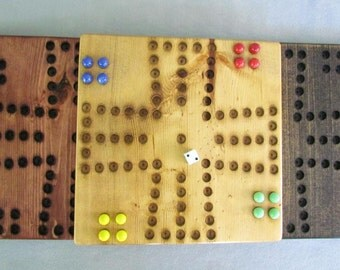 Wah Hoo Game Board with Marbles