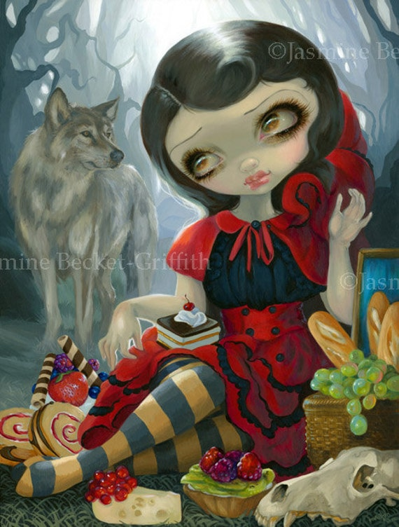fairytale red riding hood