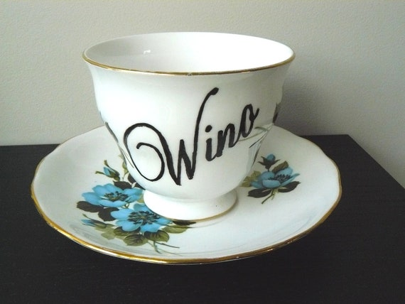 Wino teacup