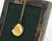 Sunshine and Gold Teardrop Necklace
