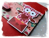 I Love You Card - Miss Owl - UniqueGrabs
