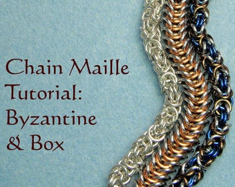 Chain Maille Tutorial - Byzantine and Box Weaves / Patterns