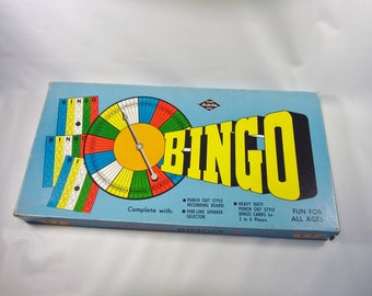 Vintage Bingo Game -Retro Built Rite Bingo